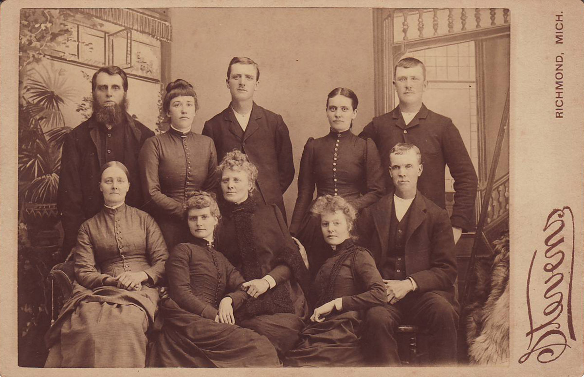 <I>Howe:</I> Howe Family Children -- St. Clair County, Michigan