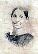 <I>Bessonett:</I> Catharine Ann Bessonett Fox, photo about 1840, Natchez, Mississippi